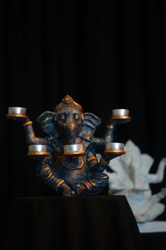 Статуэтки ручной работы. Ярмарка Мастеров - ручная работа. Купить Статуэтка Бога Ганеши. Handmade. Ганеша, слоник, изотерика, божество