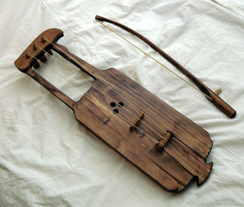 Йоухикко (тагельхарпа, смычковая лира), Инструменты, Москва, Фото №1