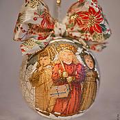 Подарки к праздникам ручной работы. Ярмарка Мастеров - ручная работа Новогодний сувенир 2. Handmade.