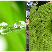 "Одежда handmade. Livemaster - original item Pullover ""Green"". Handmade."