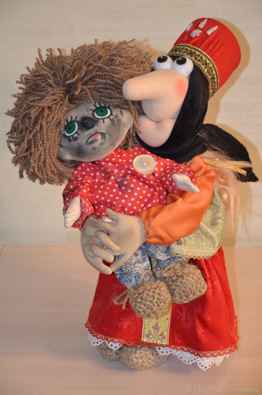 Баба Яга и  домовенок Кузя!!!!, Кукольный театр, Коломна,  Фото №1