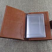Сумки и аксессуары handmade. Livemaster - original item Wallet-purse for avtodokumentov. Handmade.