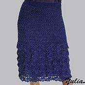 Одежда ручной работы. Ярмарка Мастеров - ручная работа Вязаная юбка. Handmade.
