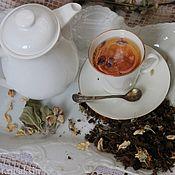 Наборы чая и кофе ручной работы. Ярмарка Мастеров - ручная работа Чай с травами и ферментированными листьями. Handmade.