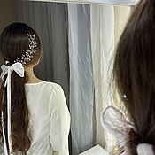 Свадебный салон handmade. Livemaster - original item Wedding hair jewelry. Handmade.