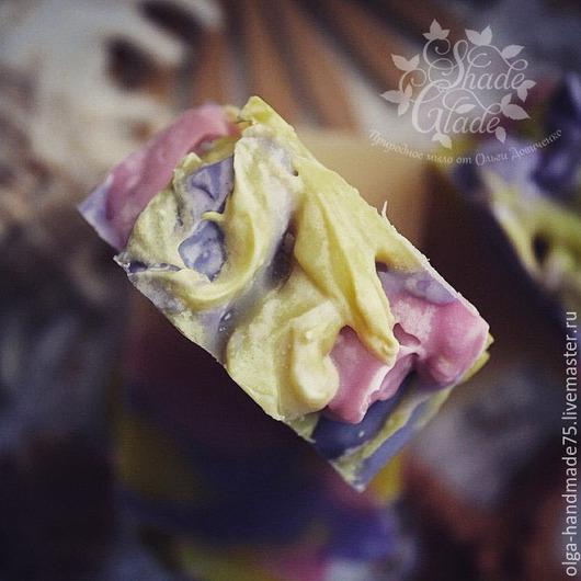 """Мыло ручной работы. Ярмарка Мастеров - ручная работа. Купить Натуральное мыло ручной работы """"Коралловый риф"""". Handmade. Разноцветный"""