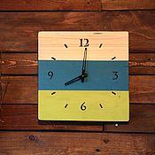 Для дома и интерьера ручной работы. Ярмарка Мастеров - ручная работа Часы деревянные. Handmade.
