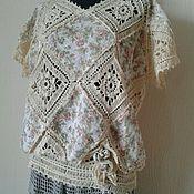 """Одежда ручной работы. Ярмарка Мастеров - ручная работа Блуза """"Бохо Прованс"""". Handmade."""