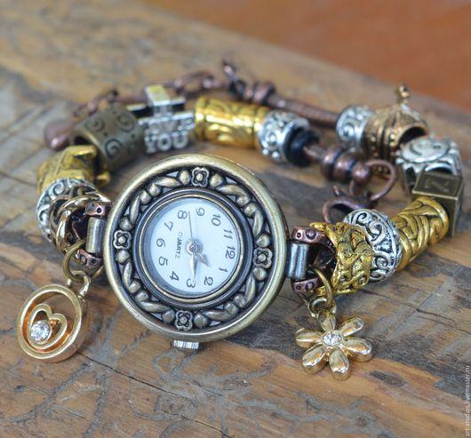 Часы ручной работы. Ярмарка Мастеров - ручная работа. Купить Часы с браслетом в европейском стиле.. Handmade. Пандора, часы наручные