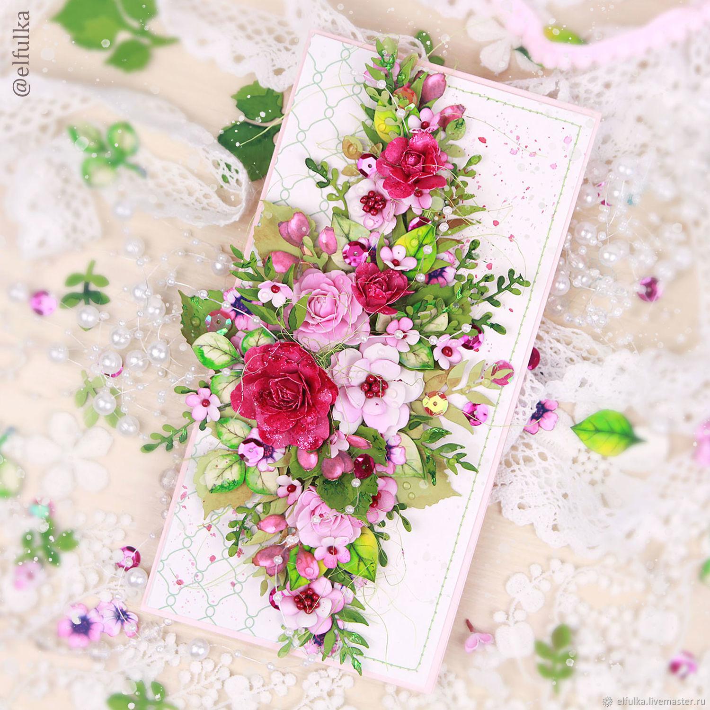 Марта, цветы для открыток ручной работы магазина