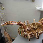 Для дома и интерьера ручной работы. Ярмарка Мастеров - ручная работа Братина. Handmade.