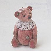 Куклы и игрушки ручной работы. Ярмарка Мастеров - ручная работа Роза мишка тедди. Handmade.