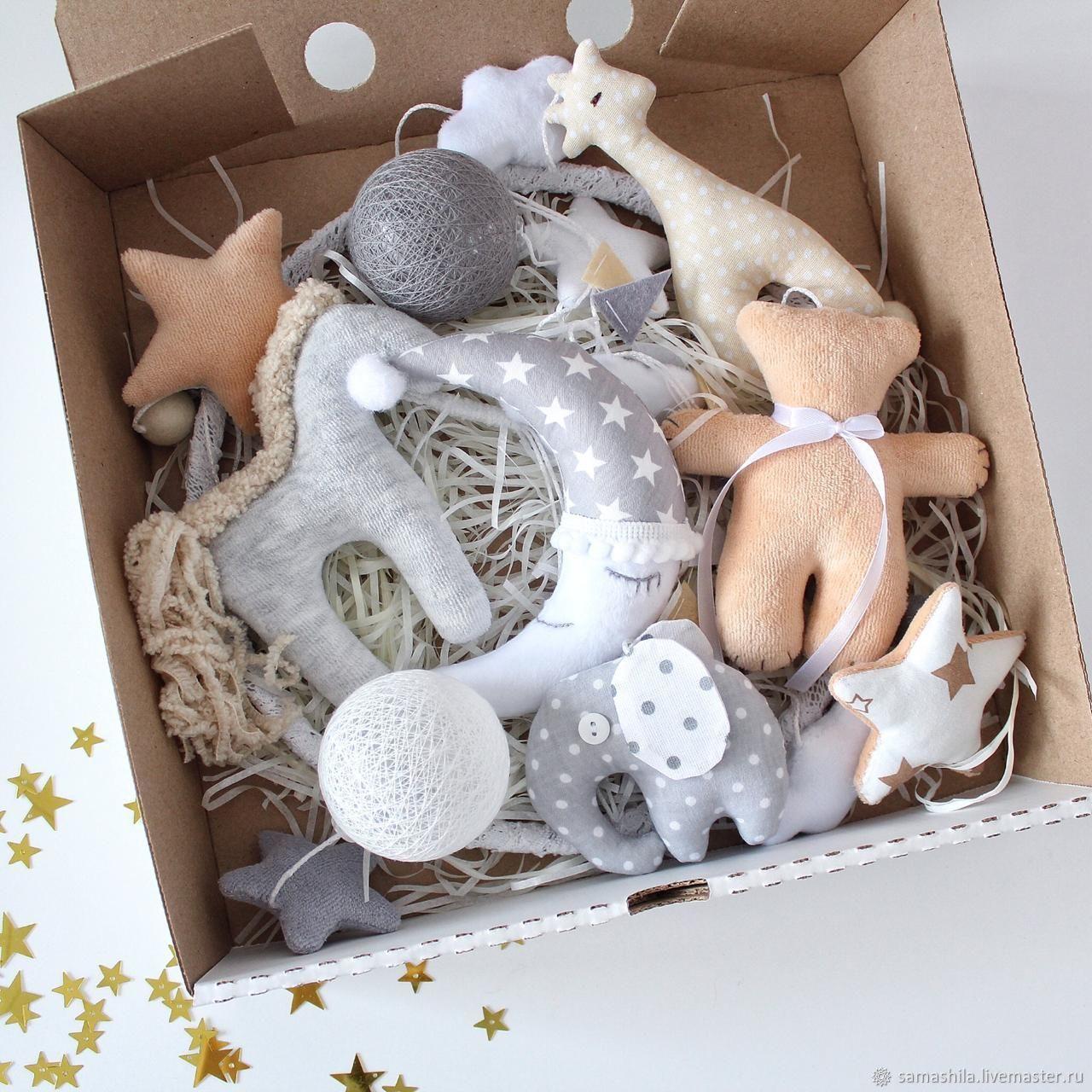 Mobile in the crib for a newborn, Stuffed Toys, Krasnoyarsk,  Фото №1