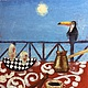 Натюрморт ручной работы. Карибское утро. Manana (Manana-painter). Интернет-магазин Ярмарка Мастеров. Картина маслом в подарок, карибы