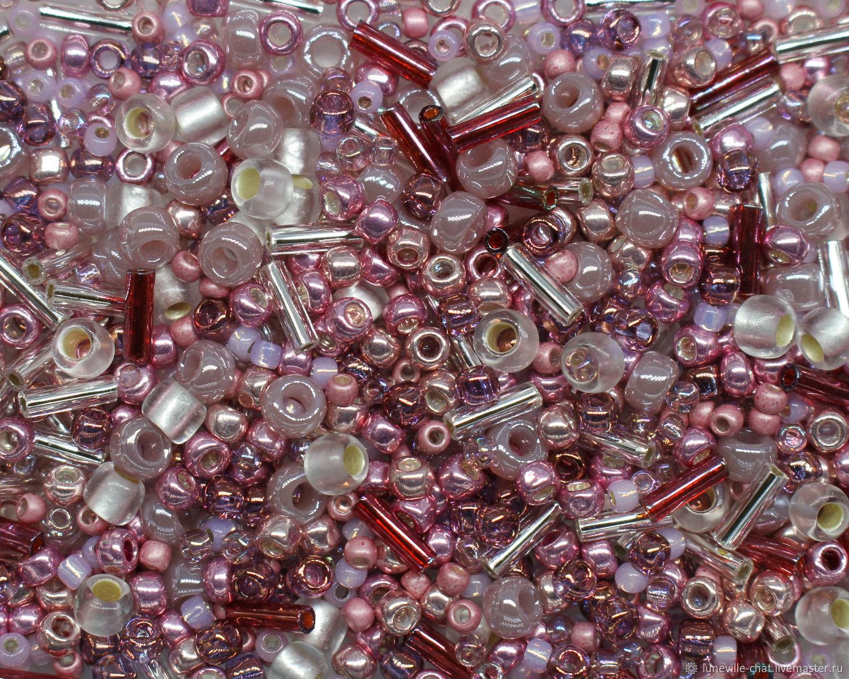 Japanese beads 'TOHO' mix No. №3215 10 g, Beads, St. Petersburg,  Фото №1