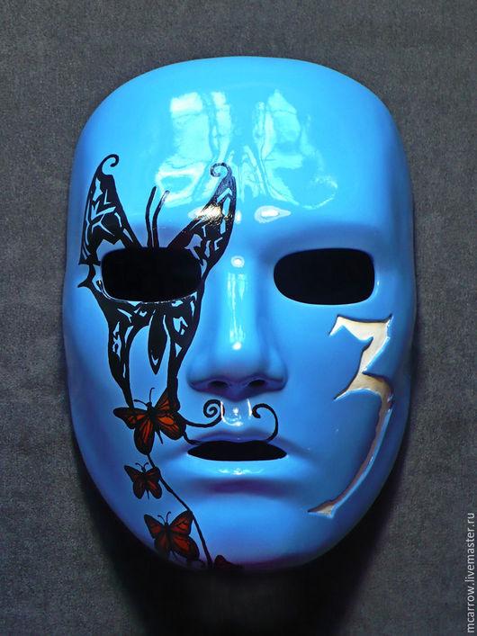 Карнавальные костюмы ручной работы. Ярмарка Мастеров - ручная работа. Купить Маска Johnny 3 Tears, v.2008 (Hollywood Undead). Handmade.