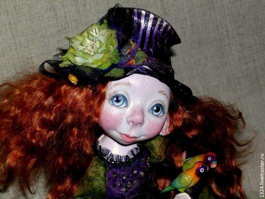 """Коллекционные куклы ручной работы. Ярмарка Мастеров - ручная работа. Купить Кукла""""Куда уехал цирк"""". Handmade. Рыжий, эксклюзивный подарок"""
