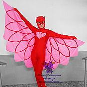 "Одежда handmade. Livemaster - original item Owlette ""PJ Masks"". Animator-actor  suit. Handmade."