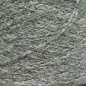 Материалы для творчества ручной работы. Ярмарка Мастеров - ручная работа Мохер Mega, цвет серый, Италия, 50 гр. Handmade.