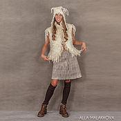 Одежда ручной работы. Ярмарка Мастеров - ручная работа Валяная юбка Линда. Handmade.