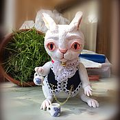 Куклы и игрушки ручной работы. Ярмарка Мастеров - ручная работа Белый Кролик. Алиса в стране чудес.. Handmade.
