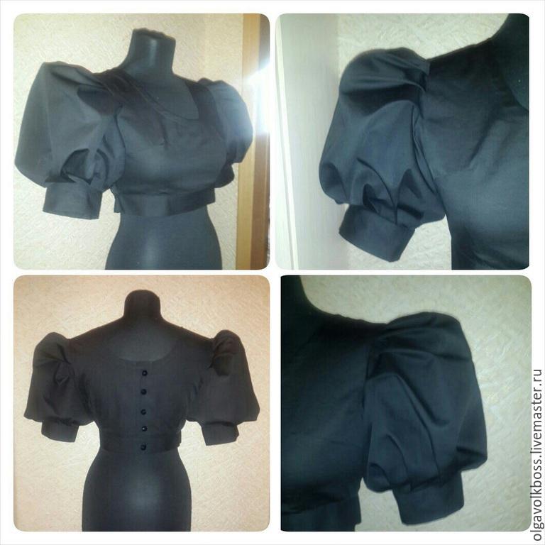 Купить черную блузку с сеткой