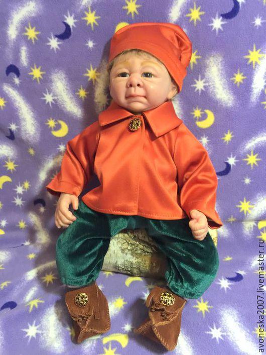 Куклы-младенцы и reborn ручной работы. Ярмарка Мастеров - ручная работа. Купить Гномик Седрик (молд Cedric от Ирис Клемент). Handmade.