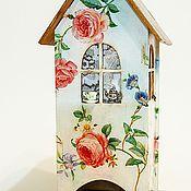 Для дома и интерьера ручной работы. Ярмарка Мастеров - ручная работа Чайный домик Розовый сад. Handmade.