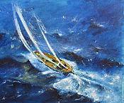 Картины и панно handmade. Livemaster - original item Yachting V. Handmade.