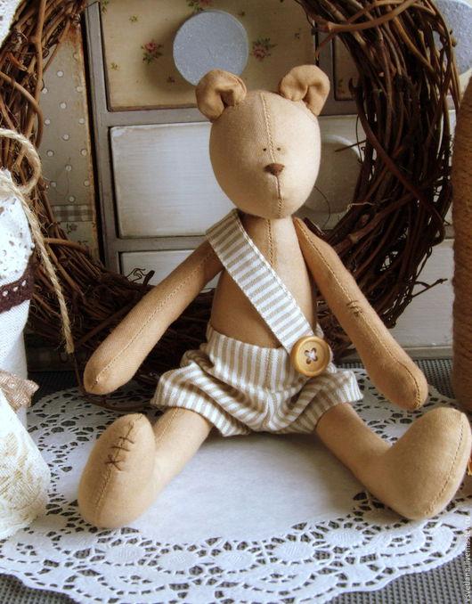 Куклы Тильды ручной работы. Ярмарка Мастеров - ручная работа. Купить Ароматный мишка. Handmade. Бежевый, тильда мишка, синтепух