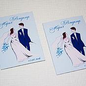 Сувениры и подарки ручной работы. Ярмарка Мастеров - ручная работа Silhouettes... Свадебные магниты для гостей. Handmade.