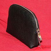 Сумки и аксессуары handmade. Livemaster - original item Cosmetic bag genuine leather Redbag. Handmade.