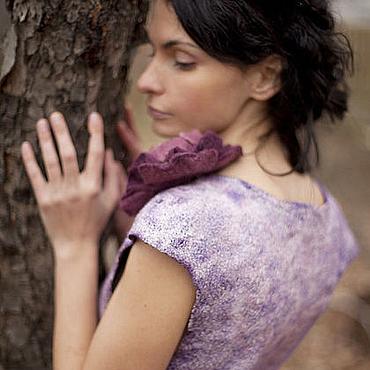 Одежда ручной работы. Ярмарка Мастеров - ручная работа Авторское платье ручной работы Piony dress. Handmade.