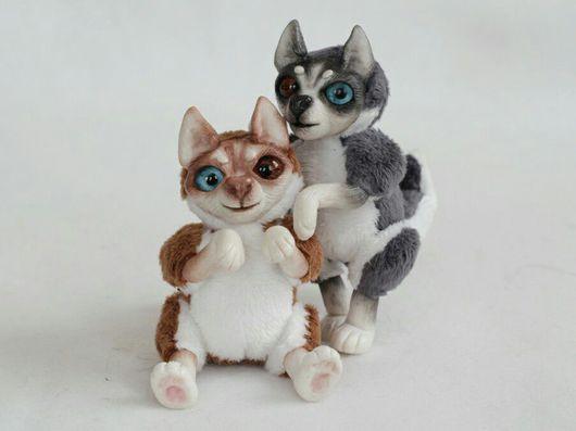 Куклы и игрушки ручной работы. Ярмарка Мастеров - ручная работа. Купить Хасята. Handmade. Собака, плюш