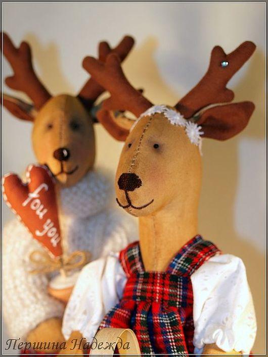 Ароматизированные куклы ручной работы. Ярмарка Мастеров - ручная работа. Купить Скандинавские олени Сами и Марта. Handmade. Игрушки, подарок
