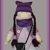 Куклы и игрушки ручной работы. Ярмарка Мастеров - ручная работа Осенняя девочка Hete ( продано). Handmade.