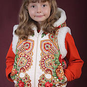 Одежда handmade. Livemaster - original item BABY VESTS FOR GIRLS AND BOYS.. Handmade.
