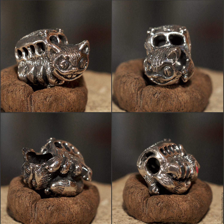 All for Jewelry Making handmade. Livemaster - handmade. Buy Catbus charm.Charm, anime, artisan, bead, trollbeads, ghibli