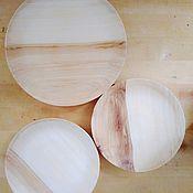Тарелки ручной работы. Ярмарка Мастеров - ручная работа Блюдце деревянное. Handmade.