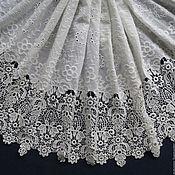 Материалы для творчества handmade. Livemaster - original item Incredibly beautiful lace embroidery 100% cotton, Edwin. Handmade.