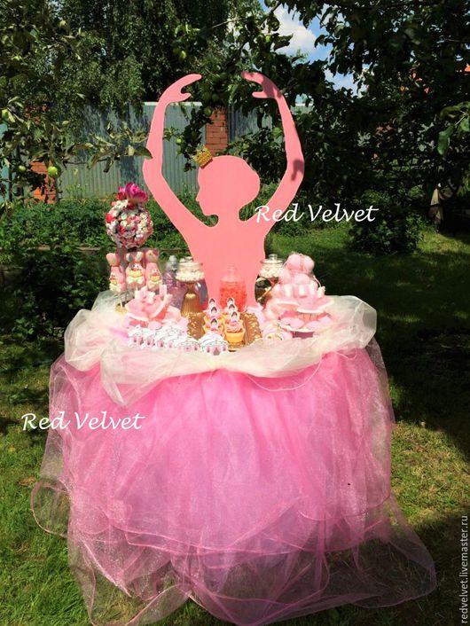 """Свадебные аксессуары ручной работы. Ярмарка Мастеров - ручная работа. Купить Кенди бар """"Балерина"""". Handmade. Сладкий стол, сладкийстолмосква"""
