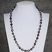 Украшения handmade. Livemaster - original item Madagascar Natural Amethyst Long Beads. Handmade.
