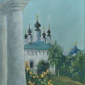Картины и панно handmade. Livemaster - original item Suzdal. Landscape oil. Handmade.