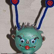Куклы и игрушки ручной работы. Ярмарка Мастеров - ручная работа Данилка (инопланетянин). Handmade.