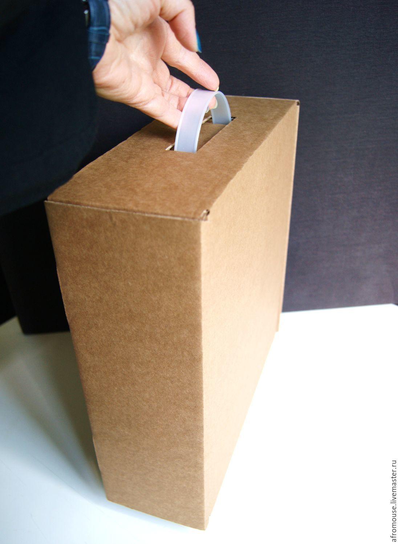 Простейшая коробка из картона своими руками фото 524