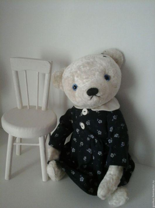 Мишки Тедди ручной работы. Ярмарка Мастеров - ручная работа. Купить Мишка Умка. Handmade. Белый, мишка в подарок, медведи