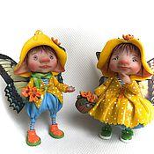 Куклы и игрушки ручной работы. Ярмарка Мастеров - ручная работа Осенний дождик. Handmade.