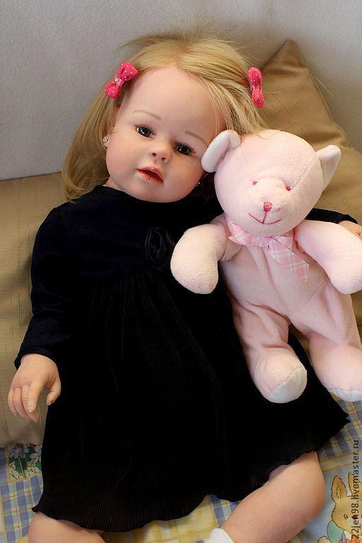 Куклы-младенцы и reborn ручной работы. Ярмарка Мастеров - ручная работа. Купить Лерочка  .. Handmade. Коллекционная кукла, холофайбер