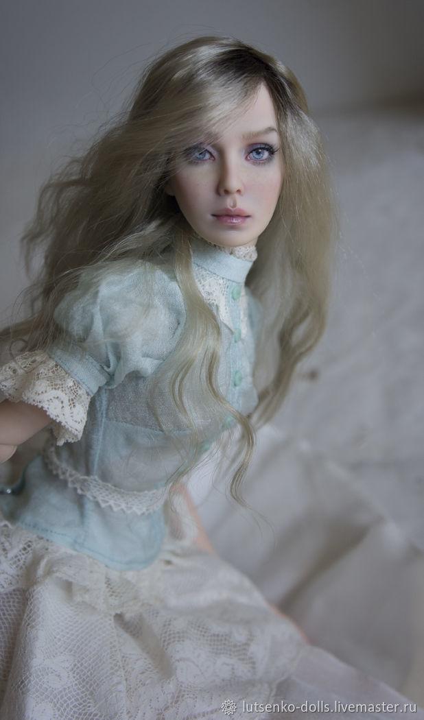 Коллекционные куклы ручной работы. Ярмарка Мастеров - ручная работа. Купить Софи (резерв). Handmade. Коллекционная кукла, полиуретан, мохер
