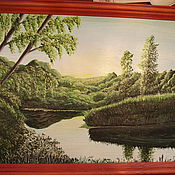Картины и панно ручной работы. Ярмарка Мастеров - ручная работа Рассвет. Handmade.
